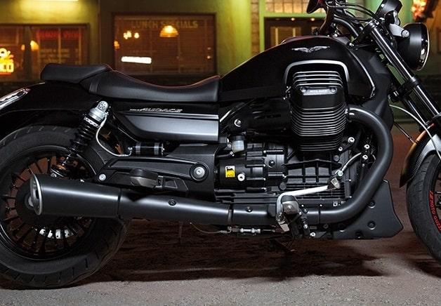 Moto Guzzi Audace двигатель фото