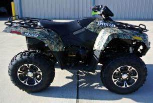 Arctic Cat 500 XT камуфляж фото и характеристики
