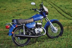 Синий Minsk M 125 новый