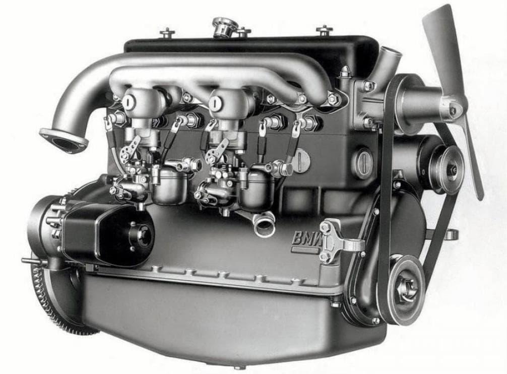 Самая первая BMW, двигатель самой певой БМВ