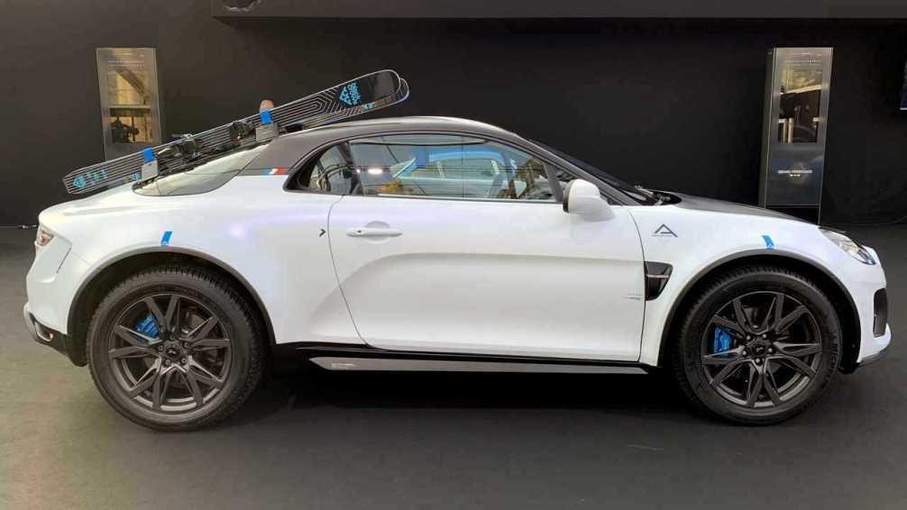 Alpine a110 кроссовер-внедоожник