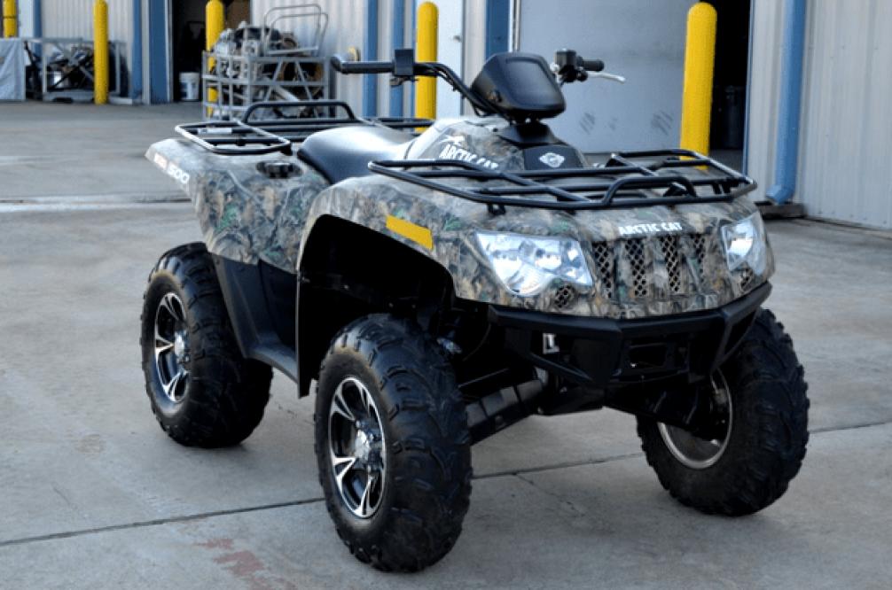 Арктик Кэт 500 XT камуфляж фото и характеристики
