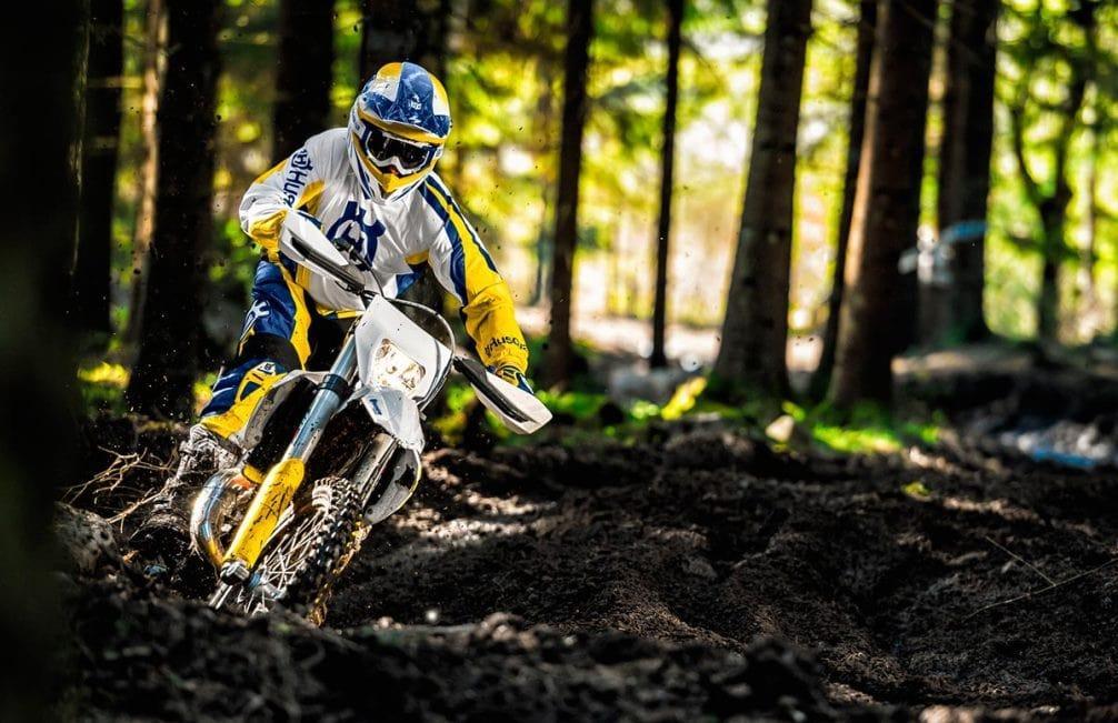 мотоцикл Хускварна TE 125 фото