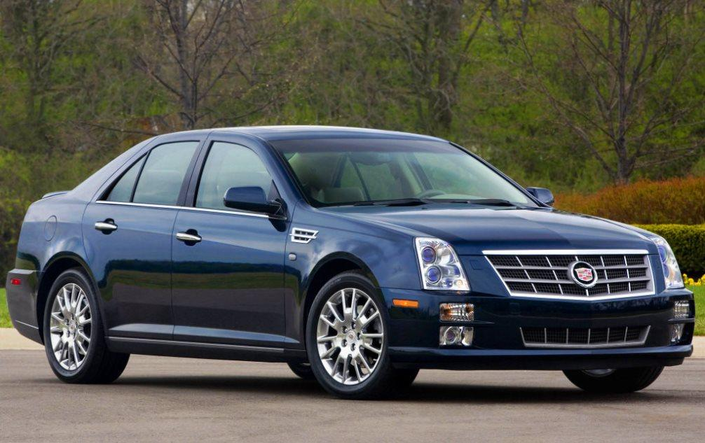 Cadillac STS фото, цены, характеристики Кадиллак СТС