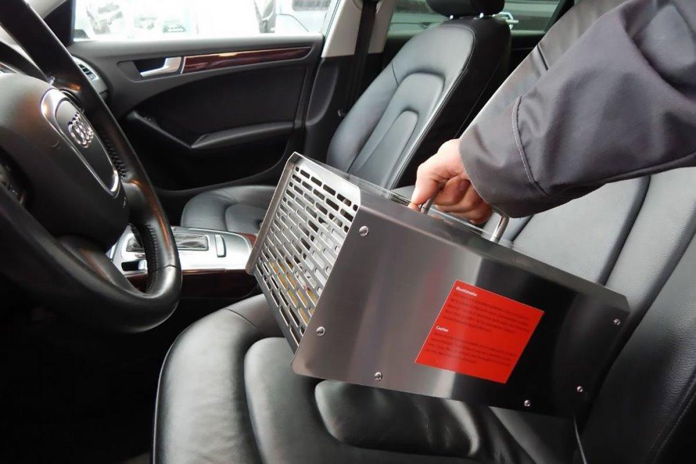 как вывести запах сигарет в машине