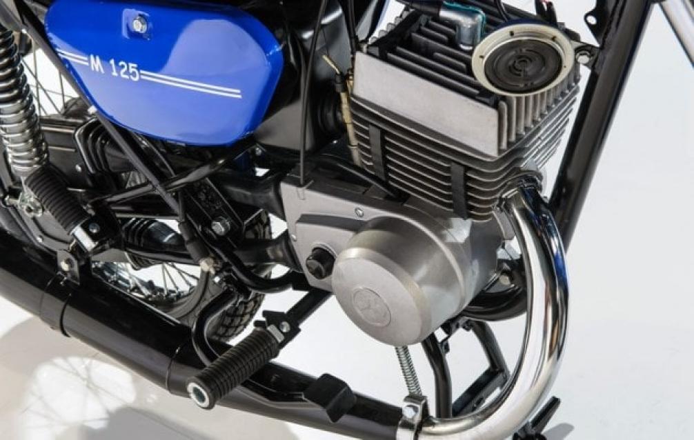 Двигатель и подножка Минск М 125