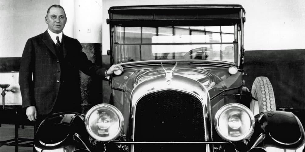 Биография Уолтер Перси Крайслер (1875–1940), фото, первые автомобили