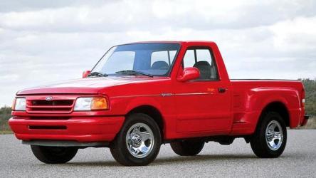 Ford Ranger 1994 Splash интерьер, фото и комплектации