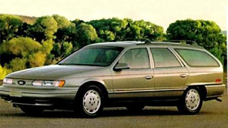 Ford Taurus LX Wagon 93- 1994 опции, комплектации, характеристики, комфорт