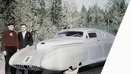 Автомобиль Победа СССР,
